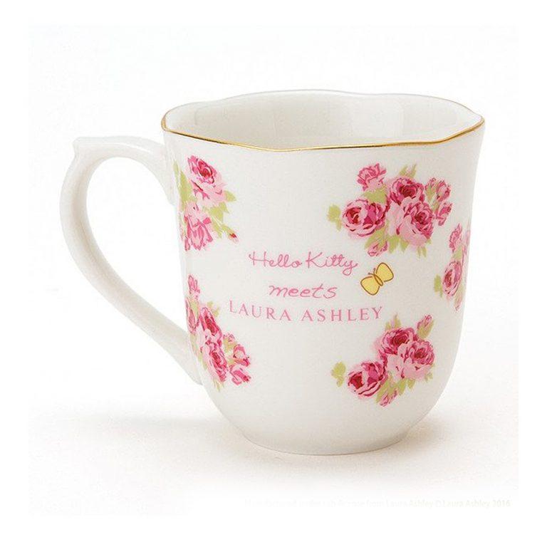 SANRIO Hello Kitty Meets LAURA ASHLEY - Cup