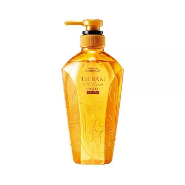 SHISEIDO Tsubaki Oil Extra Smooth Japanese Shampoo and Conditioner