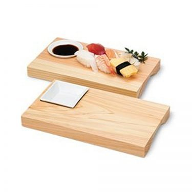 Wooden Zen Sushi Plate