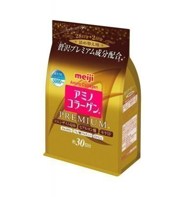 MEIJI Amino Collagen Premium Refill Made in Japan
