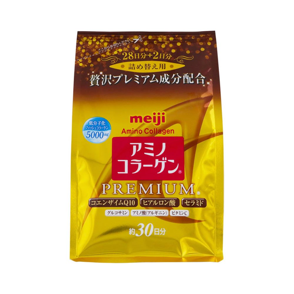 Meiji Amino Collagen vs. Premium Collagen | Fruity Lashes
