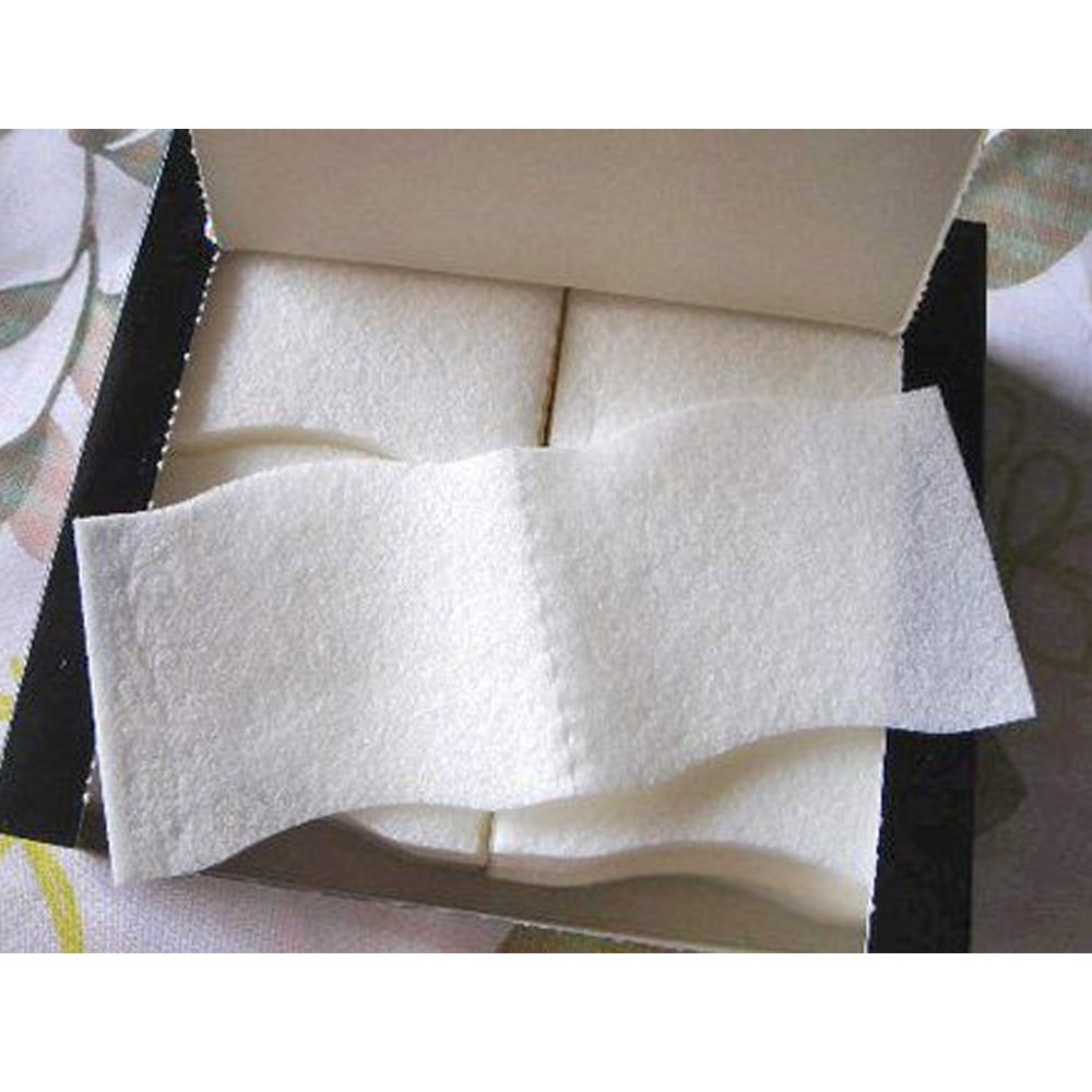 Unicharm Silcot Uruuru Sponge Facial Cotton 40 Sheets 3 Packs by Unicharm 3