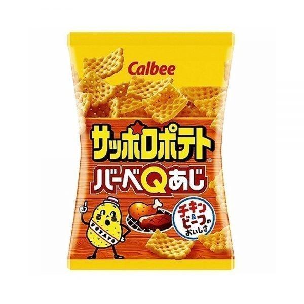 CALBEE Sapporo Potato BBQ Flavour