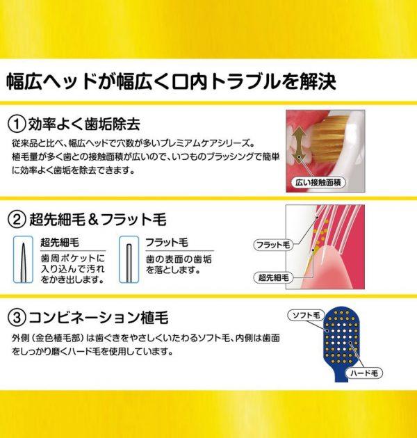 EBISU Premium Care Toothbrush