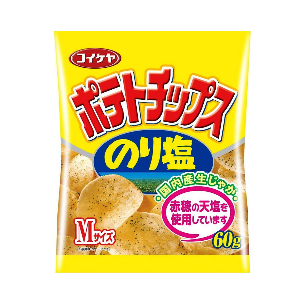 KOIKEYA Potato Chips Seaweed