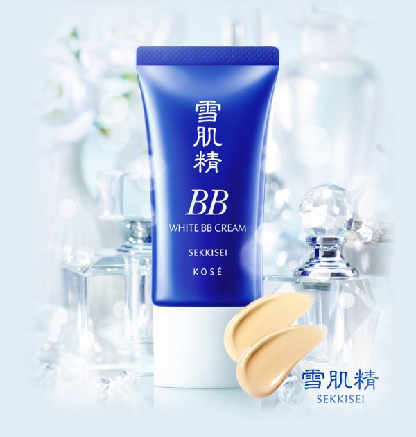 KOSE Sekkisei White BB Cream Made in Japan
