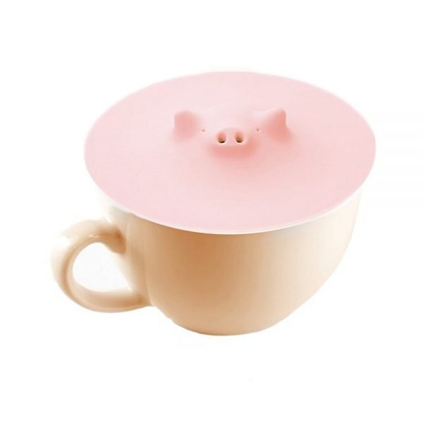 MARNA Pink Piggy Cup Cover