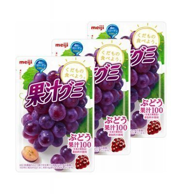 MEIJI Fruit Gumi Gummy Candy Grapes Made in Japan
