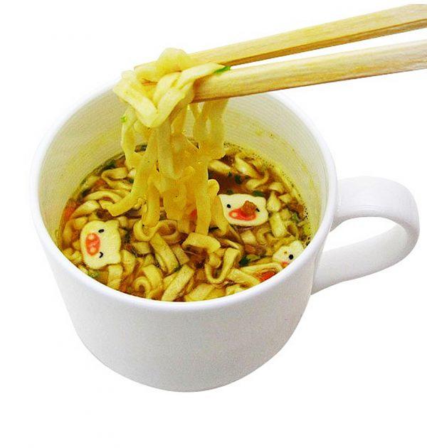 NISSIN Mug Udon Noodles - 4 Servings 2 Flavours