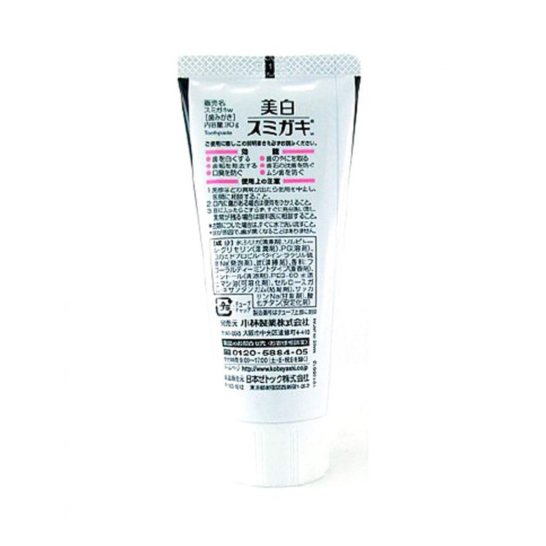 SUMIGAKI Charcoal Toothpaste with Charcoal Grain - White Beauty 90g3