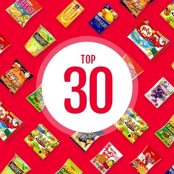 Top 30 Japanese Snack and Sweets