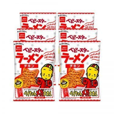OYATSU COMPANY Baby Star Ramen - Mini Chicken 23g x 6pcs
