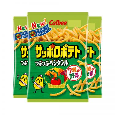 CALBEE Sapporo Potato Tsubu Tsubu Vegetarian Made in Japan