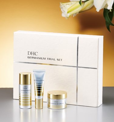 DHC GE Germanium Trial Kit - Lotion, Power Serum & Cream