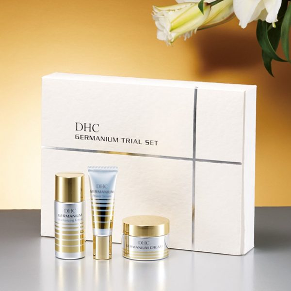 DHC GE Germanium Trial Kit - Lotion, Power Serum & Cream