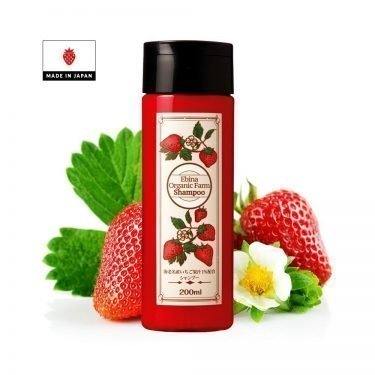 Ebina Organic Farm Shampoo made in Japan