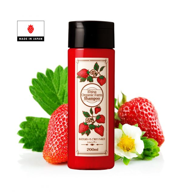 Ebina Organic Farm Shampoo made in Japan