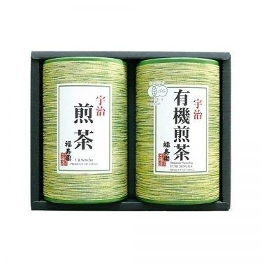 FUKUJUEN Uji Organic Sencha Green Tea Set - 110g x 2