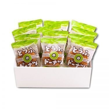 ISHIKAWA Tofu Donut - Individually Wrapped 12pcs