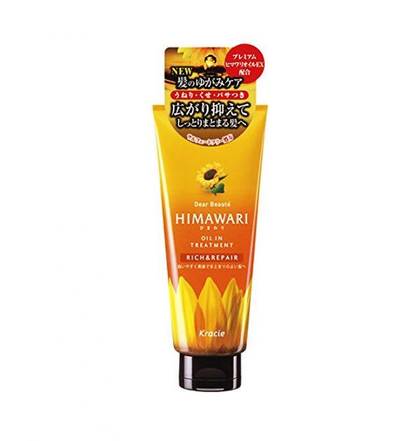 KRACIE Himawari Dear Beaute Oil Treatment - Rich & Repair 500ml