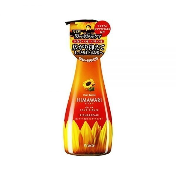 KRACIE Himawari Dear Beaute Oil in Conditioner - Rich & Repair 500ml