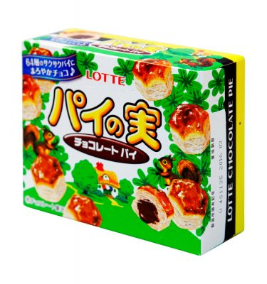 LOTTE Pie no Mi Chocolate Biscuit