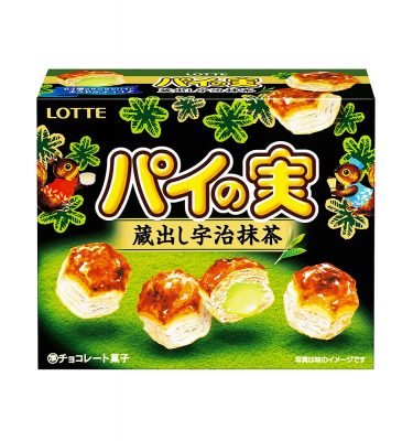 Lotte Biscuit Pie No Mi Uji Matcha Made in Japan