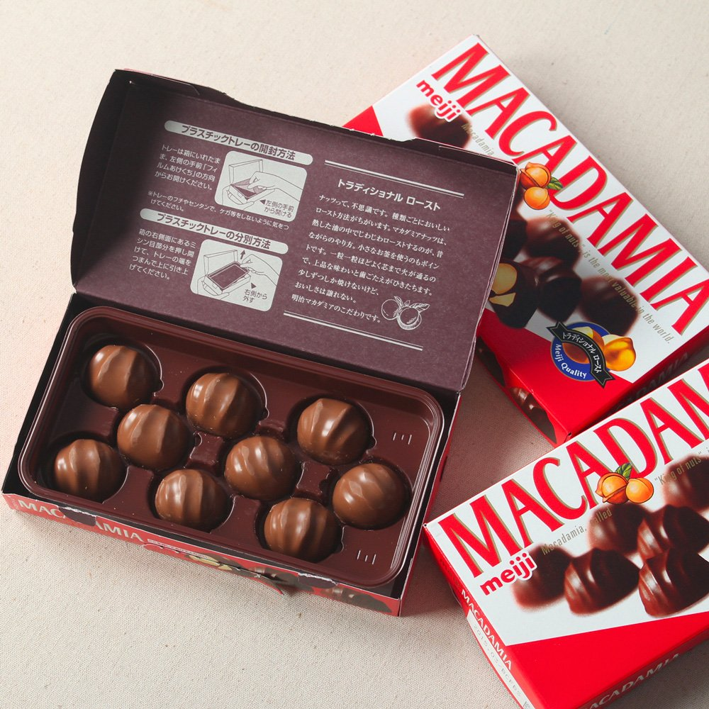 Meiji Macadamia Chocolate