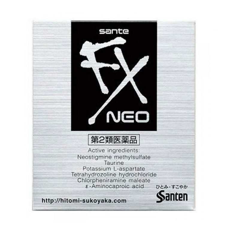SANTEN FX Neo Japanese Eye Drop - 12ml