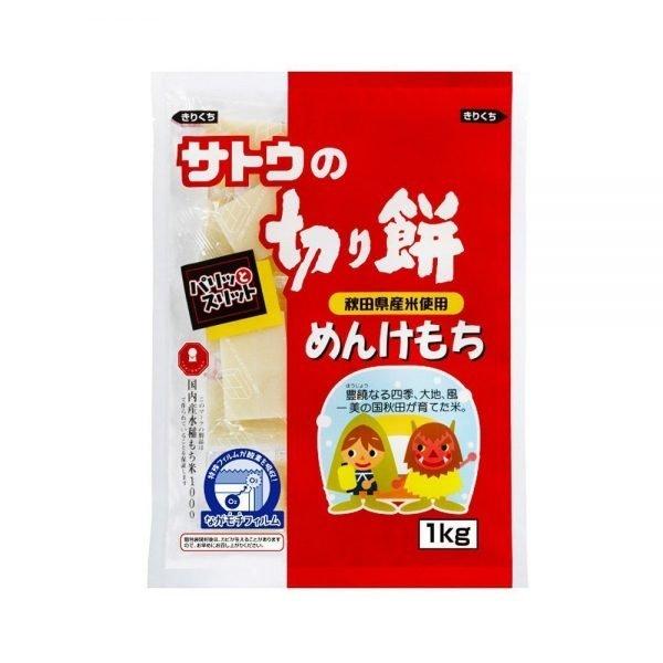 SATO Menke Mochi Rice Cake with 100% Japanese Akita Rice