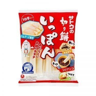 SATO Mochi Rice Cake Stick Ippon with 100% Japanese Rice