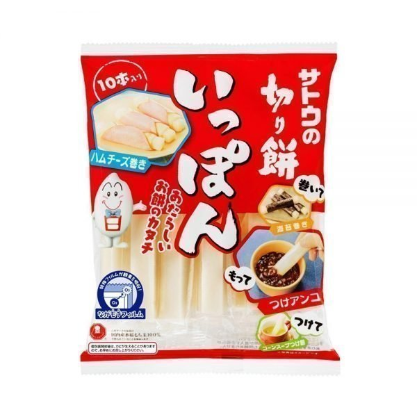 SATO Mochi Rice Cake Stick Ippon with 100% Japanese Rice