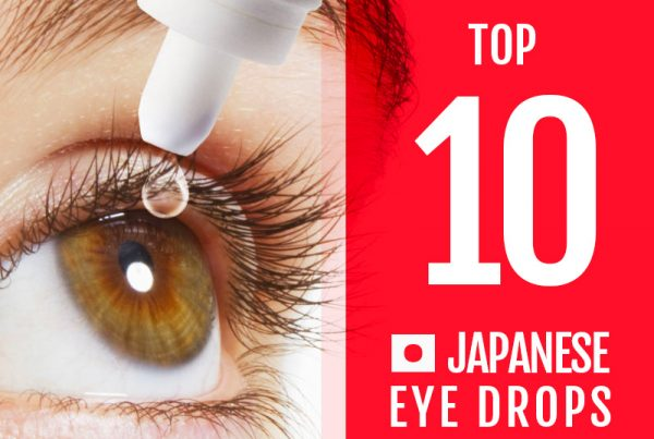 Top 10 Japanese Eye Drops Made in Japan