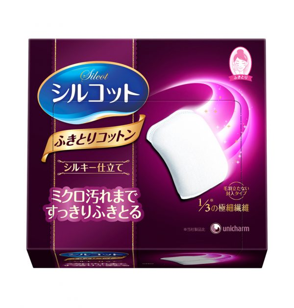 UNICHARM Silcot Silky Touch Cotton Wipes