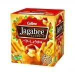 CALBEE Jagabee Potato Sticks with Butter Soy Sauce Taste - 18g×5 Packs