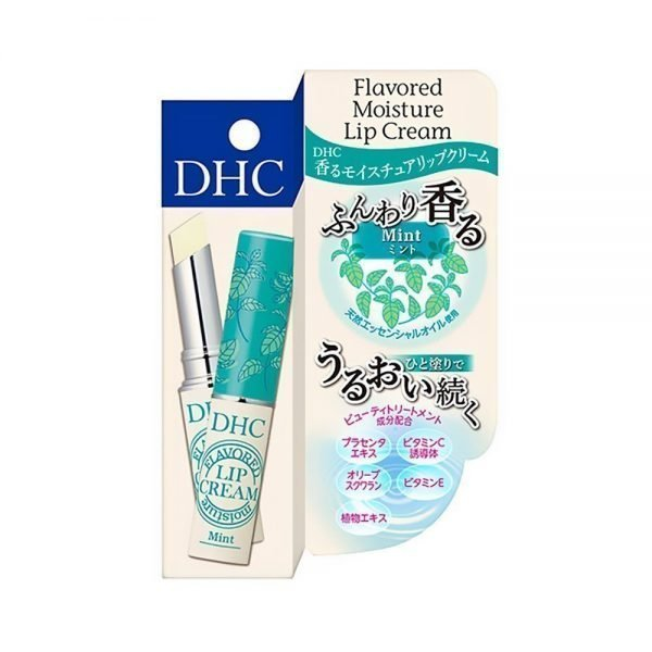 DHC Flavoured Moisture Lip Cream - Mint with Placenta