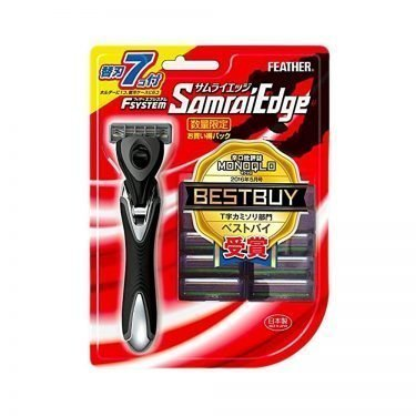 FEATHER Samurai Edge Razor + 7 Blades Pack - Best Buy