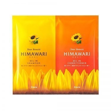 KRACIE Himawari Dear Beaute Oil in Shampoo + Conditioner Trial Set