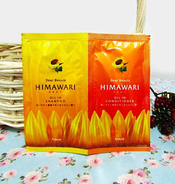 KRACIE Himawari Dear Beaute Oil in Shampoo + Conditioner Trial Set
