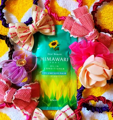 KRACIE Himawari Dear Beaute Oil in Shampoo Volume sample sachets