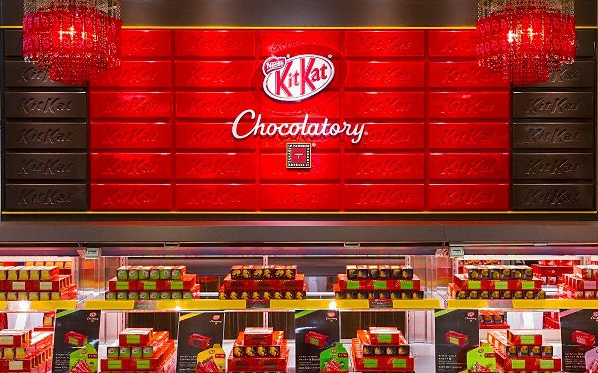 Kit Kat Japanese Shop in Tokyo