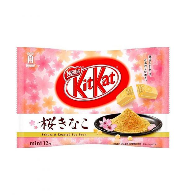 Kit Kat Mini Sakura Kinako