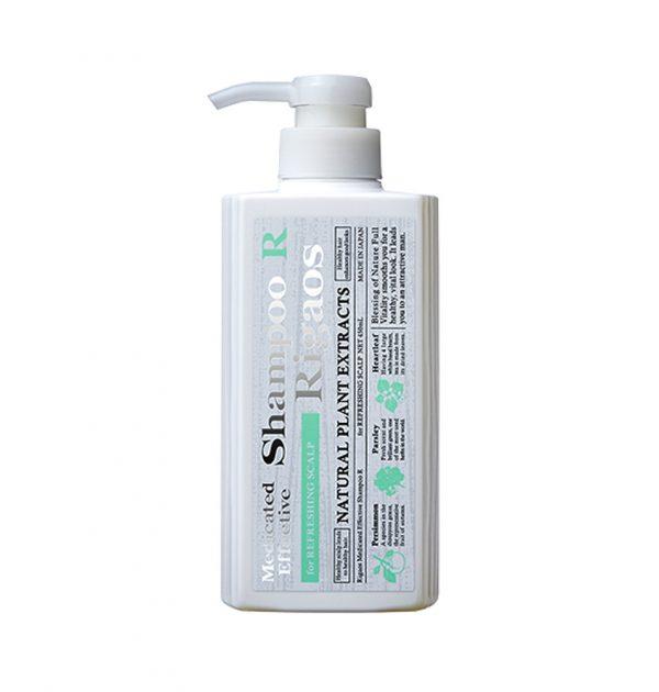 RIGAOS Medicated Effective Shampoo R - 450ml