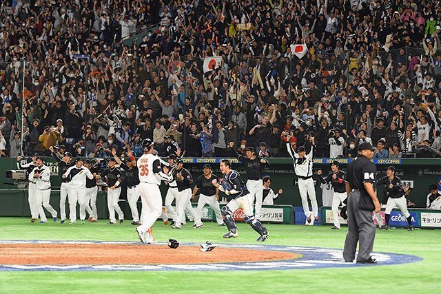 Tokyo Dome during 2017 WBC