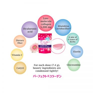 ASAHI Perfect Asta Collagen Powder Supplement