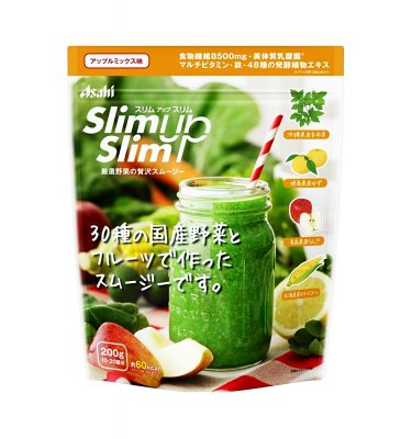 ASAHI Slim Up Slim Select Vegetable Made in Japan - Luxurious Smoothie 200g