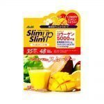 ASAHI Slim Up Slim Vegeful Vita Smoothie with Collagen 5000mg Mango Made in Japan