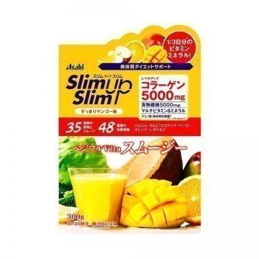 ASAHI Slim Up Slim Vegeful Vita Smoothie with Collagen 5000mg Mango Made in Japan