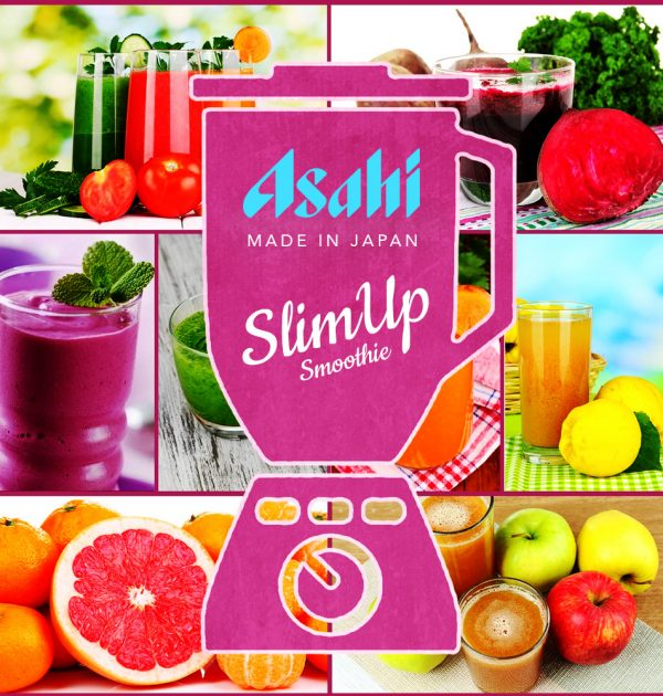 ASAHI Slimup Slim Vegeful Vita Smoothie with Collagen Made in Japan