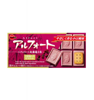 BOURBON Alfort Chocolate Cookie red bean adzuki